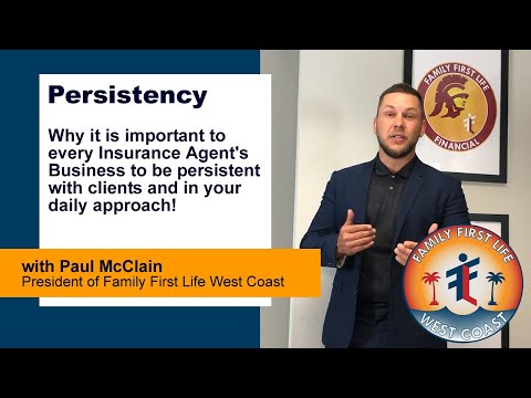 Persistency And Why It Is Important To Your Insurance Business With Paul McClain