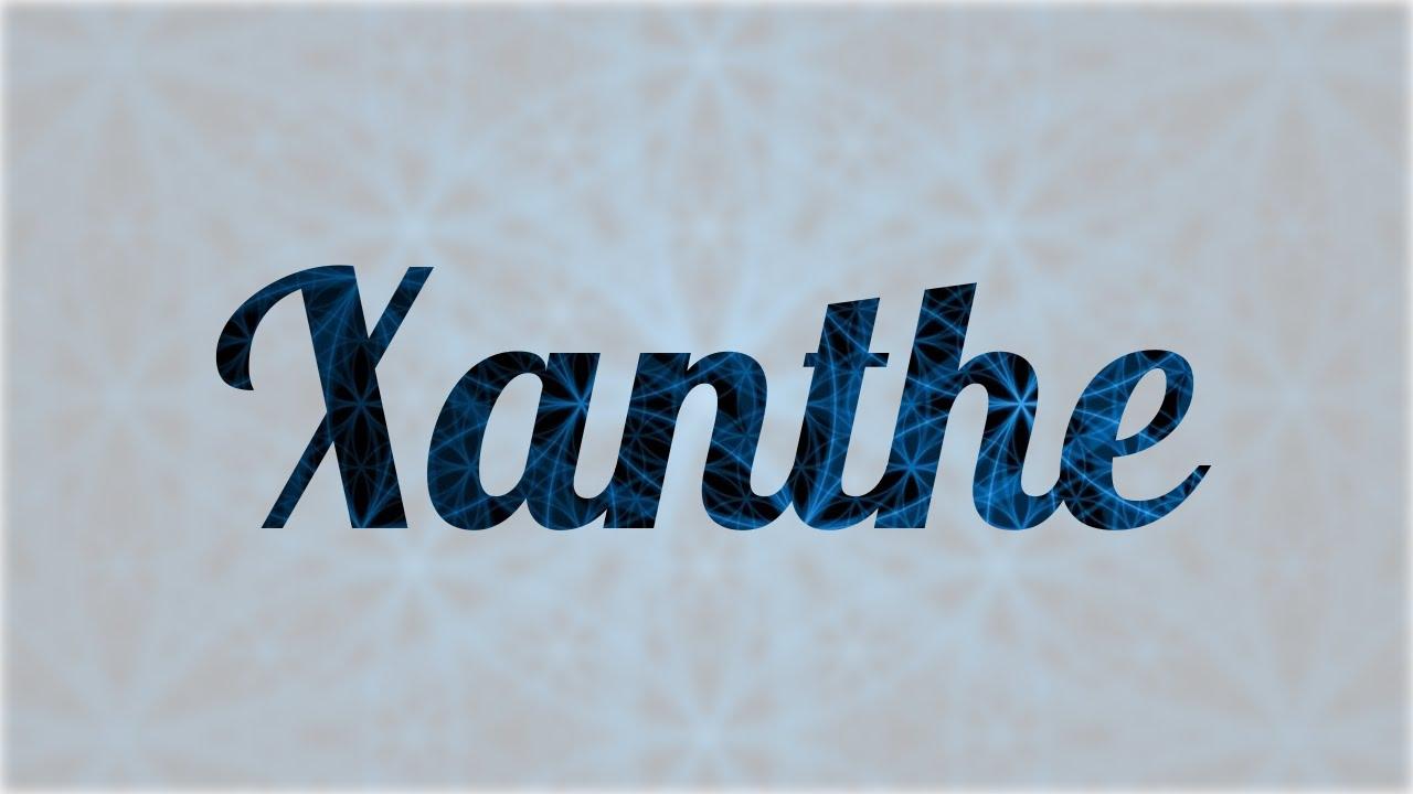 Significado De Xanthe Nombre Griego Para Tu Bebe Ni O O