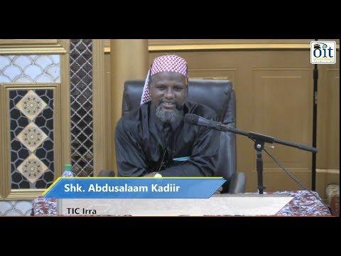 shk Abdusalaam Kadir masjid Tawfiq Isamic Center irra 5/5/2018