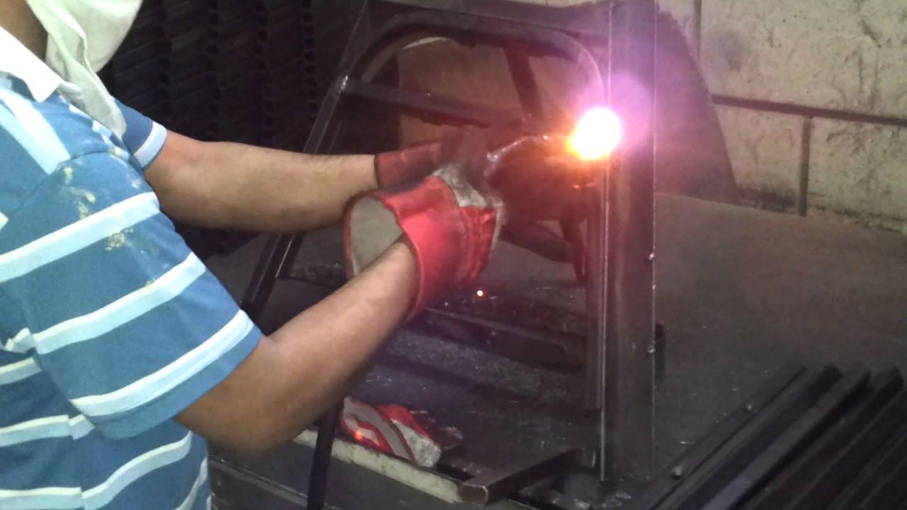 Leg chair welding step 1
