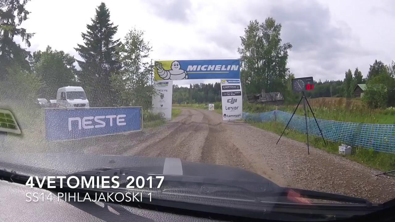 Ss 13 19 Pihlajakoski Stage Map Rally Finland 2018 Wrc