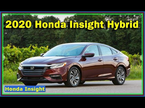 2020 Honda Insight Hybrid Review - Community-like excellent street manners quiet ride