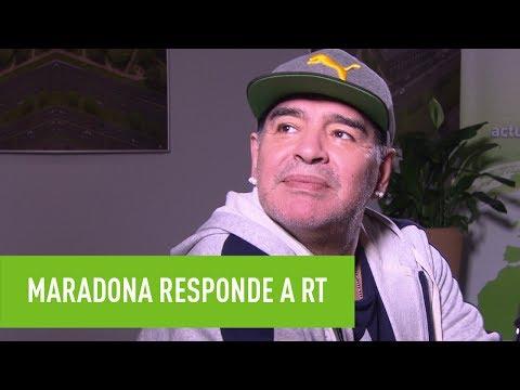 "Maradona en Rusia: ""Latinoamérica está agobiada por la derecha"""