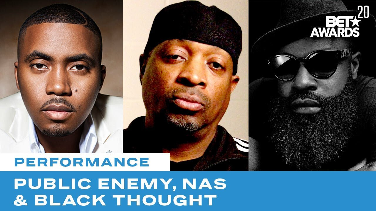 Public Enemy Is Joined By Nas, Black Thought & More For Rendition of Fight The Power | BET Award
