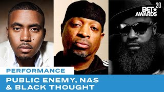 Download Public Enemy Is Joined By Nas, Black Thought & More For Rendition of Fight The Power | BET Awards 20 Mp3 and Videos