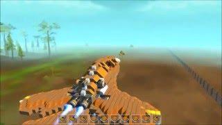 SCRAP MECHANIC : Let's Build : Un avion de chasse !!