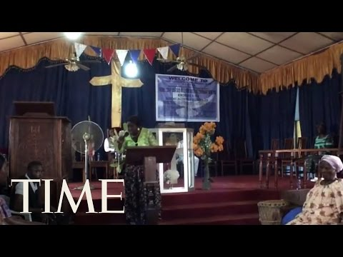 In Liberia, Ebola Is Fought With Gospel And Chlorine | TIME