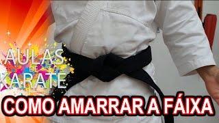 AULAS DE KARATE - 2 MÉTODOS DE COMO AMARRAR A FAIXA thumbnail