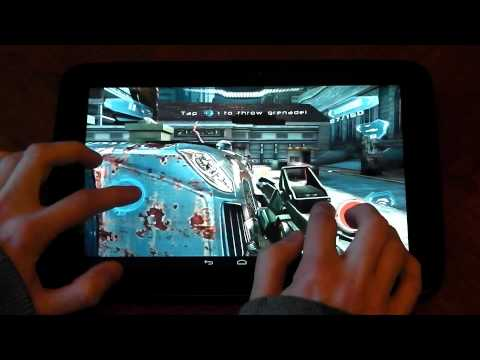 Nexus 10 vs iPad 4 (4th gen) - Gaming Performance- HD