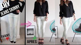DEROULER LA BARRE D'INFO ☟↓ ↓ ↓ ↓ B L O G : http://www.byisnata.com Comment retailler un jeans avec une coupe évasée ou droite pour le transformer ...