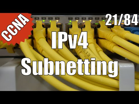 CCNA/CCENT 200-120: IPv4 Subnetting 21/84 Free Video Training Course