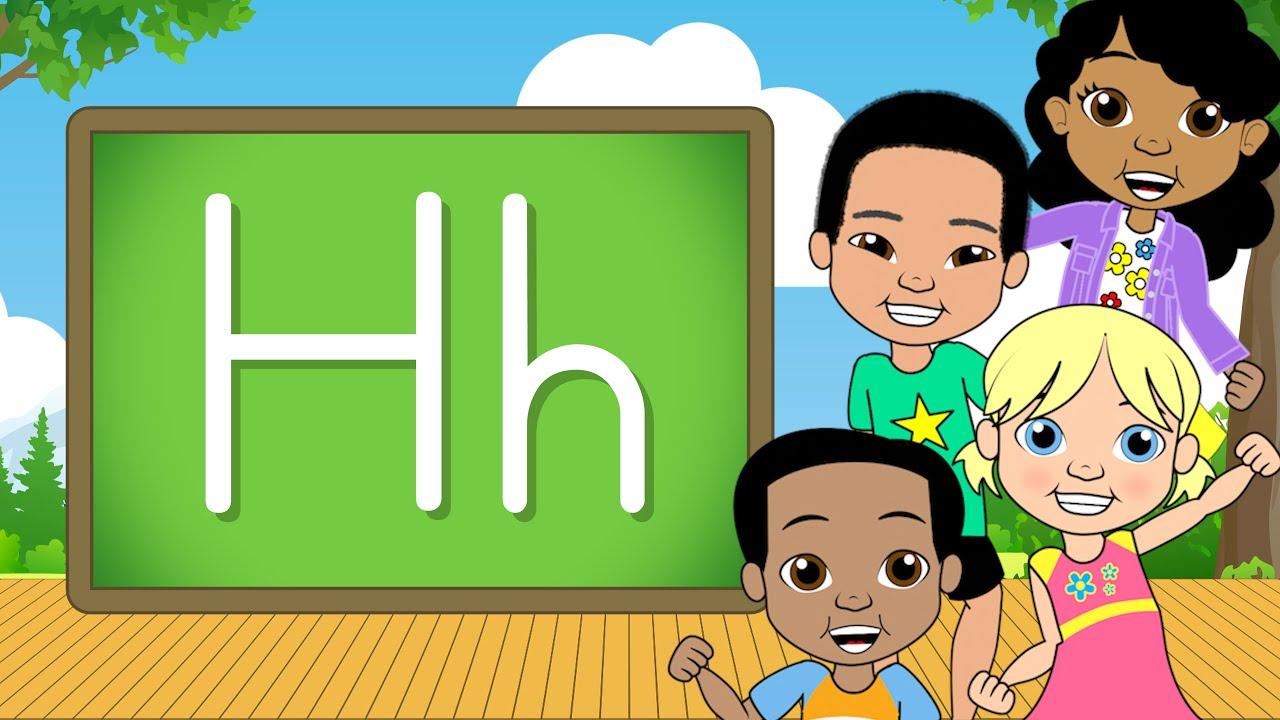 The Letter H Alphabet A Z Jack Hartmann Alphabet Song Youtube
