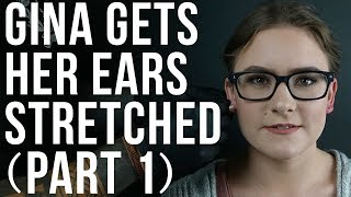 Watch Gina Get Her Ears Stretched to a 12G (Part 1) | UrbanBodyJewelry.com