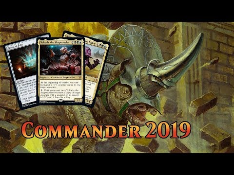 Commander 2019 Spoilers — August 5, 2019 | Gerrard, Volrath, Rayami