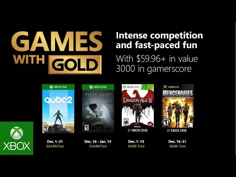 Xbox Gold Games November 2020.Xbox December 2018 Games With Gold