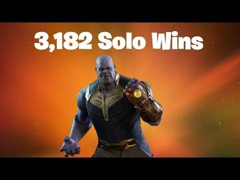#1 World Record 3,182 Solo Wins | Fortnite Live Stream
