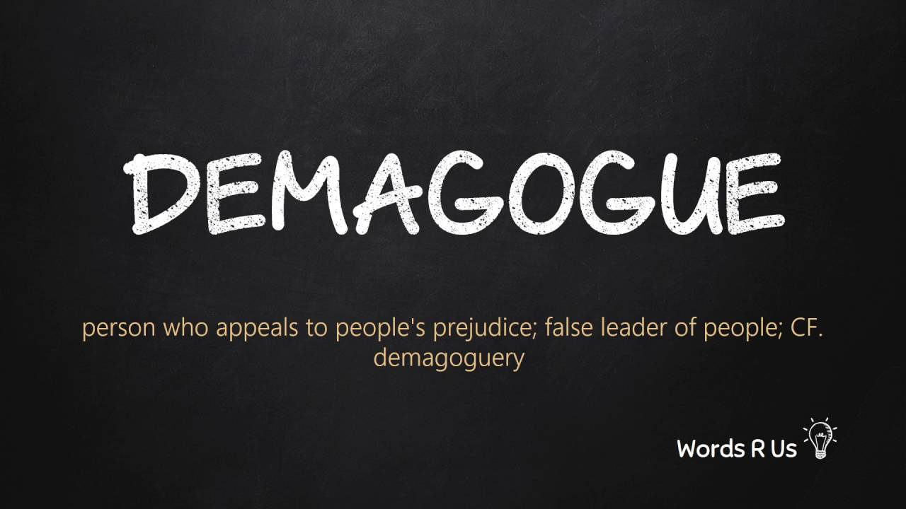 Demagoguery: the meaning of the word, the origin and interpretation 53