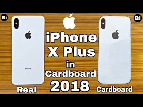 How to make a Apple Iphone xs plus out of cardboard | DIY CARDBOARD IPHONE XS+ | HOW TO MAKE | Bi