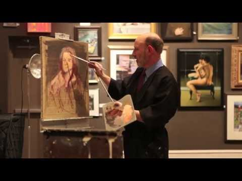 Thomas Torak Master Painter at the Salmagundi Club, NYC