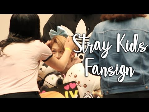 SECOND STRAY KIDS FANSIGN EXPERIENCE