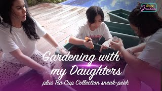 Gardening with my Daughters