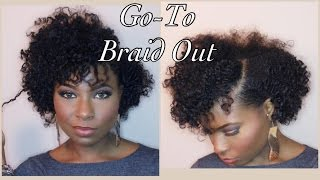 my go to braid out natural hair
