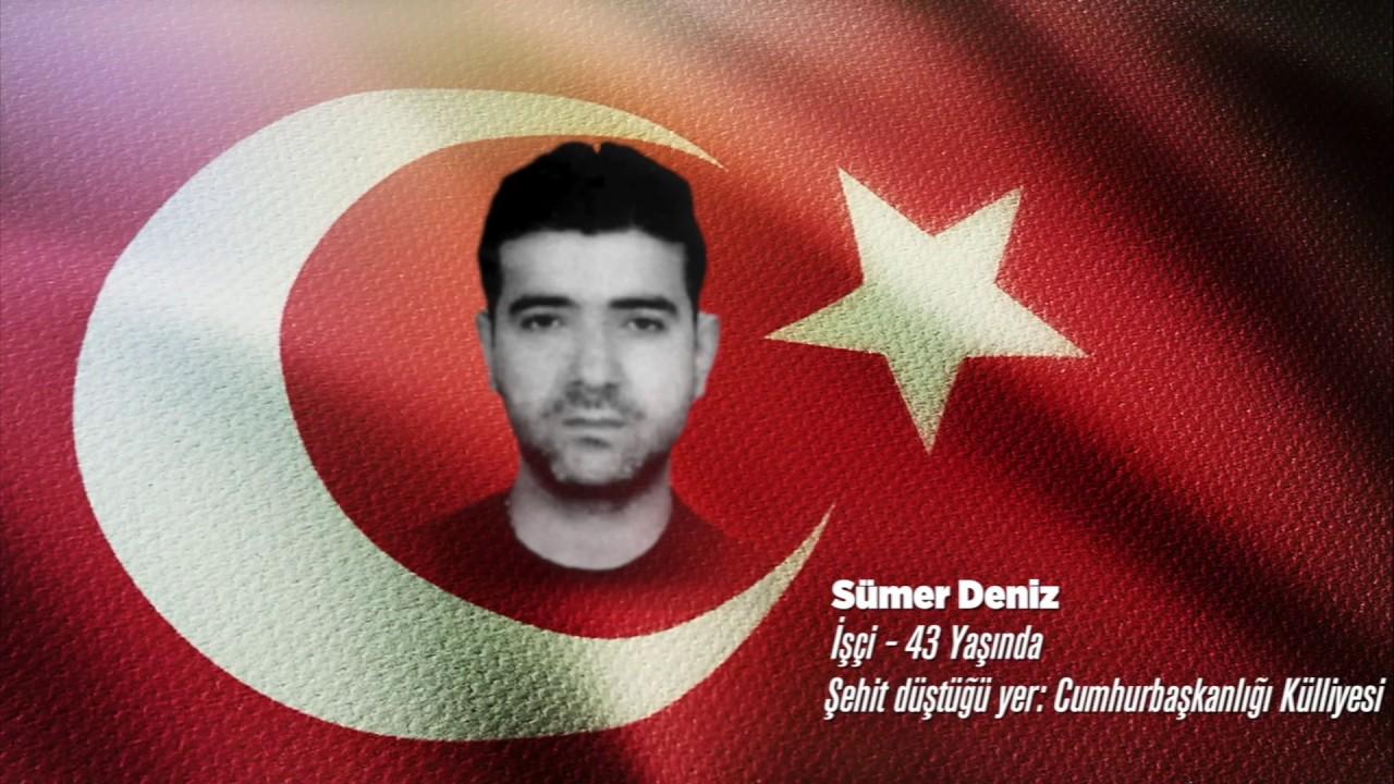 15 Temmuz Şehidi Sümer Deniz