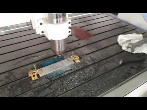 LD CNC Aluminum Cutting Router Video
