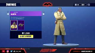 "NOUVEAU FORTNITE SKIN ""SLEUTH"" COP OU DROP?"