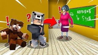 KORKUNÇ ÖĞRETMENDEN KAÇAN KAZANIR! 😱 - Minecraft