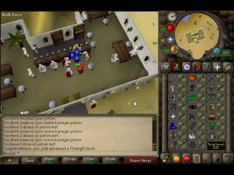 OSRS:Road to G Maul Rune Pure - Days 25-31 - 1 Month Progress!