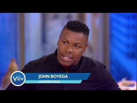 John Boyega On Love Of 'Sister Act,' Racism In US, 'Star Wars: The Last Jedi' | The View
