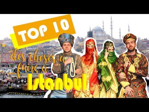 TOP 10 des choses à faire à Istanbul - Turquie
