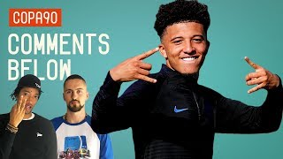 Is Jadon Sancho the future of England? | Comments Below