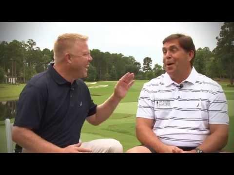 Lance Ringler interviews PGA Tournament Director Steve Wilmot