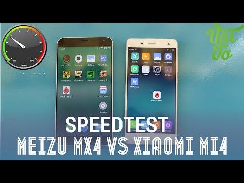 Vật Vờ - Xiaomi Mi4 vs Meizu MX4: so sánh tốc độ, hiệu năng, quản lí ram