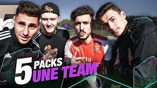 Download Video 5 PACKS = 1 ÉQUIPE FIFA 19 VERSION FOOTBALL !! MP3 3GP MP4