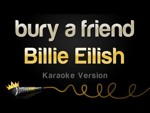 Billie Eilish - bury a friend (Karaoke Version)