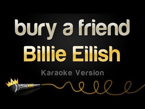 Billie Eilish - bury a friend Karaoke