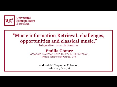 Music information Retrieval: challenges, opportunities and classic music