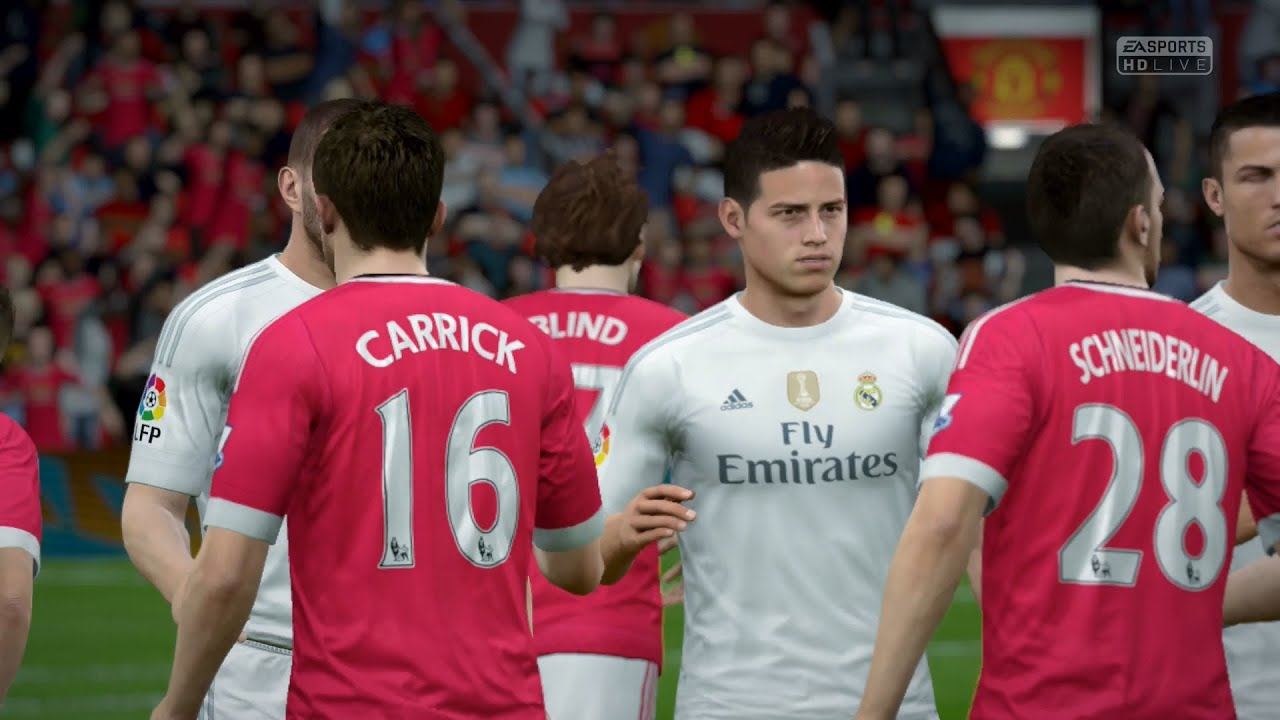 Fifa 16 manchester united vs real madrid full gameplay ps4 fifa 16 manchester united vs real madrid full gameplay ps4xbox one youtube voltagebd Image collections