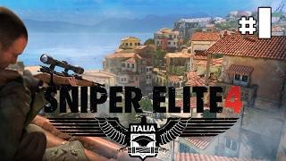 Sniper Elite 4 - Let's Play #1 [FR]