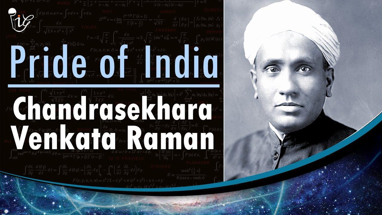 C V Raman Nobel Prize Winner For Physics Pride Of India Youtube