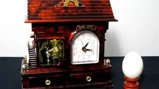 Jewellery Storage Music Box (clock) Series