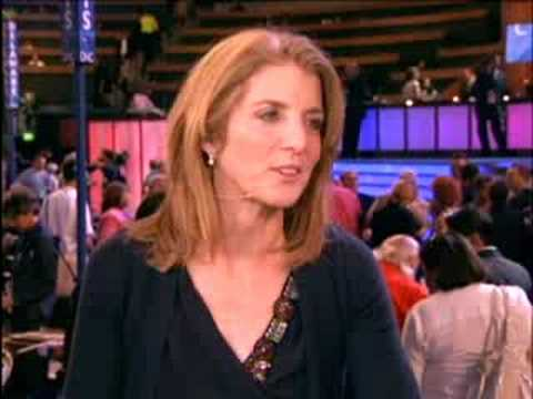 Caroline Kennedy Discusses Ted