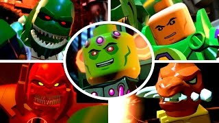 LEGO Batman 3 Beyond Gotham - All Boss Fights