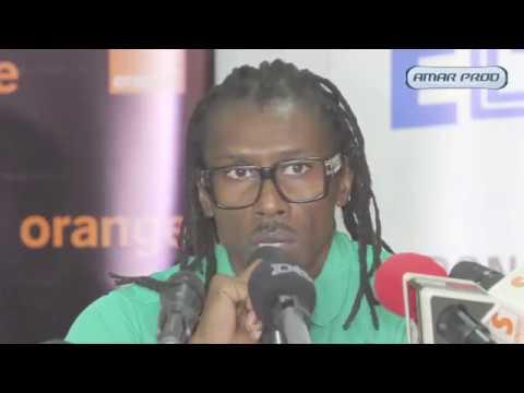"""Aliou Cissé : """"La situation de nos gardiens de buts est préoccupant"""""""