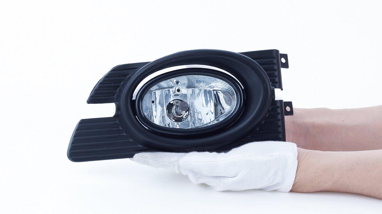 2001-2002 Honda Accord 4Dr Cg Clear Lens Jdm Driving//Bumper Fog Light//Lamp Bulb
