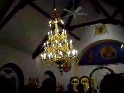 Swinging Chandelier At Pascha Youtube