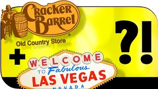 Vegas gets a Cracker Barrel 😍! Closest location to Los Angeles yet, and a Nevada first! 💯